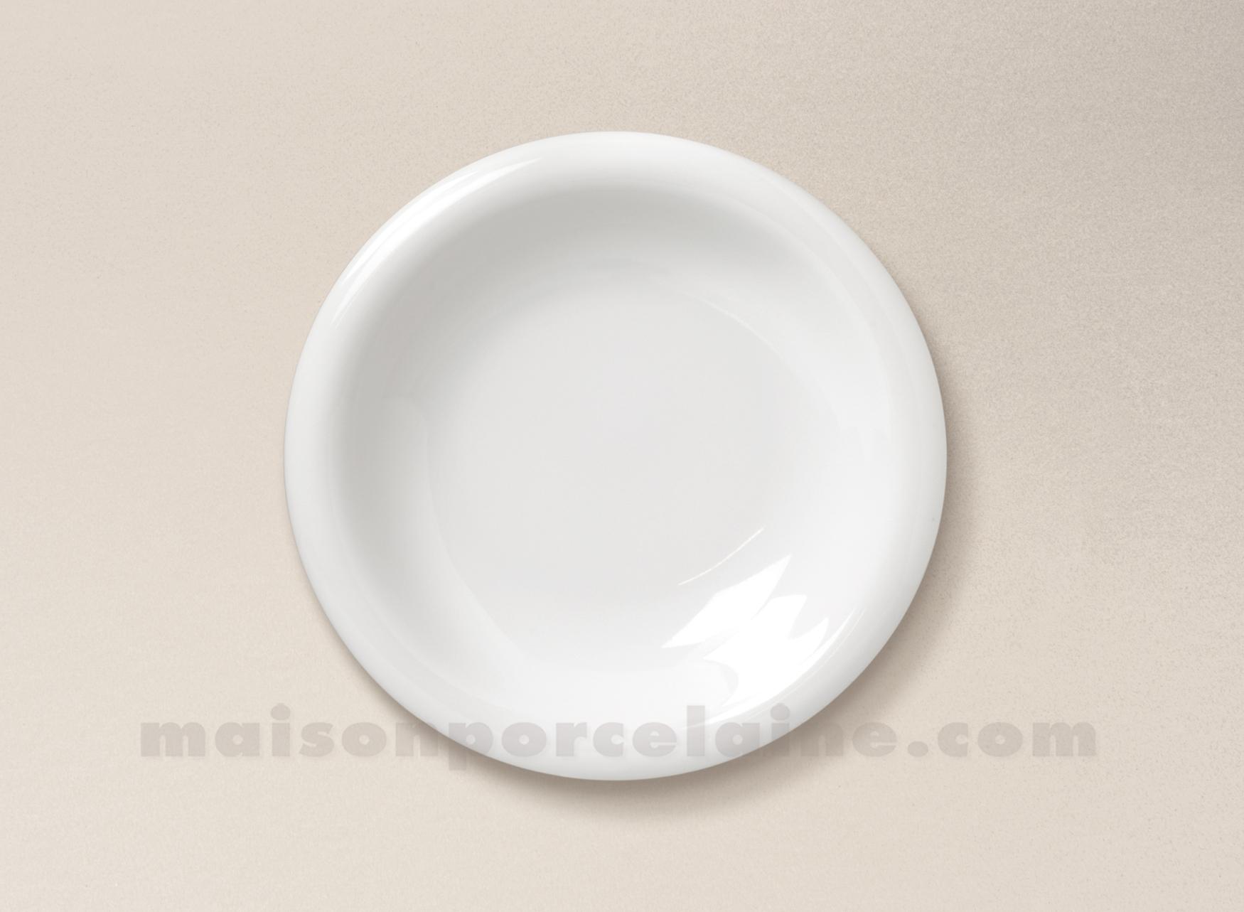Assiette creuse porcelaine blanche ronda d22 maison de - La maison de porcelaine ...
