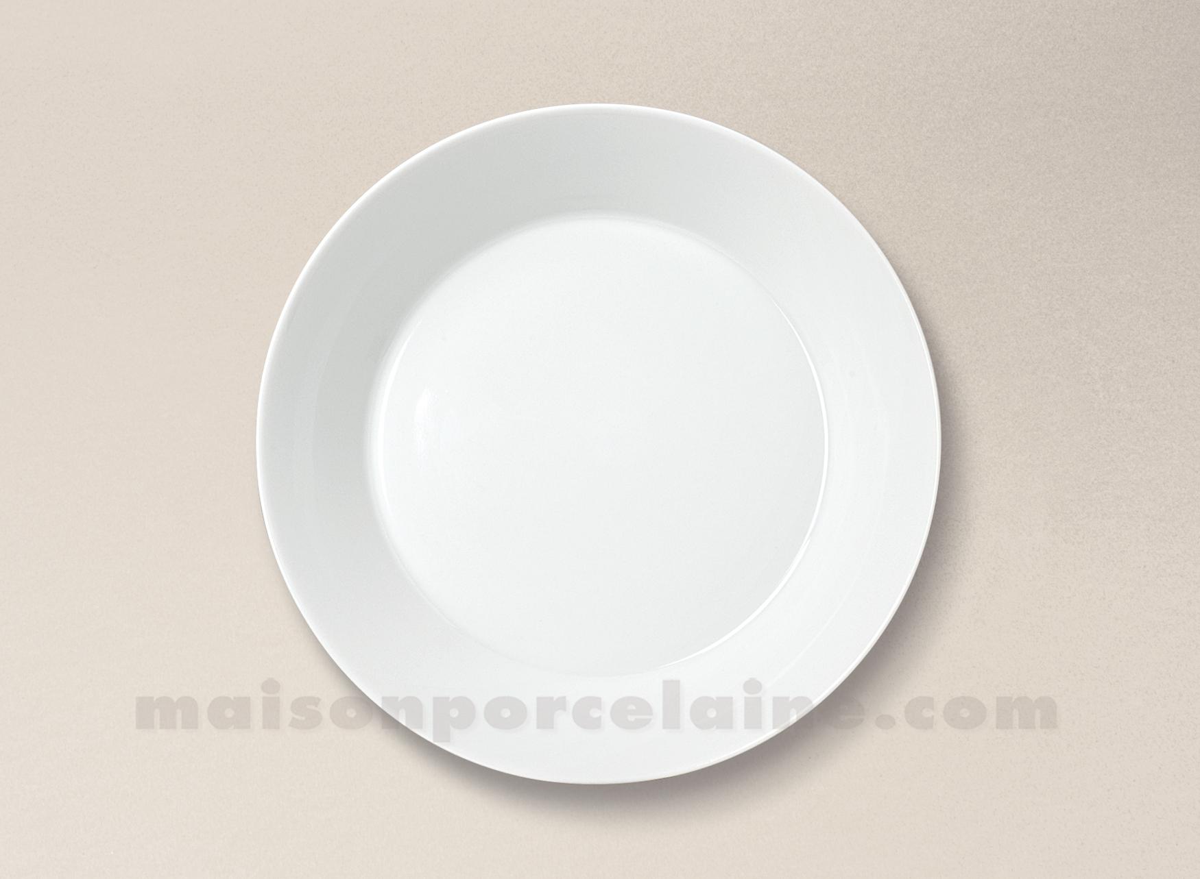 assiette creuse porcelaine blanche trendy d20 60cl. Black Bedroom Furniture Sets. Home Design Ideas