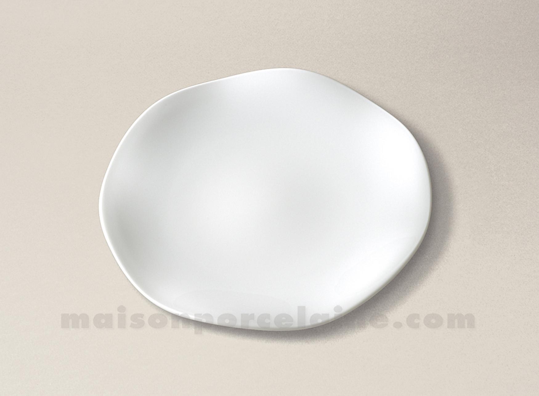Assiette dessert limoges porcelaine blanche gala d21 for Maison de la porcelaine