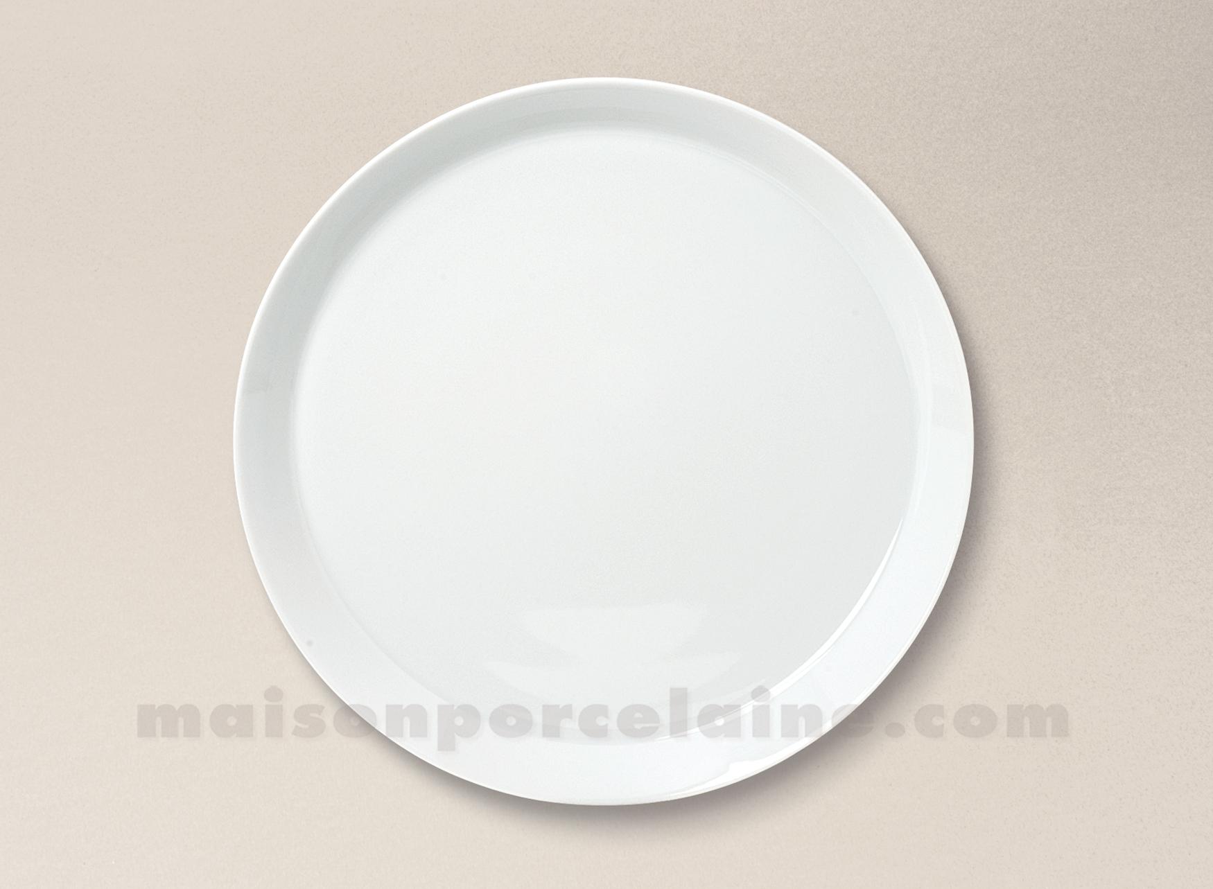 assiette dessert porcelaine blanche trendy d22 maison de. Black Bedroom Furniture Sets. Home Design Ideas