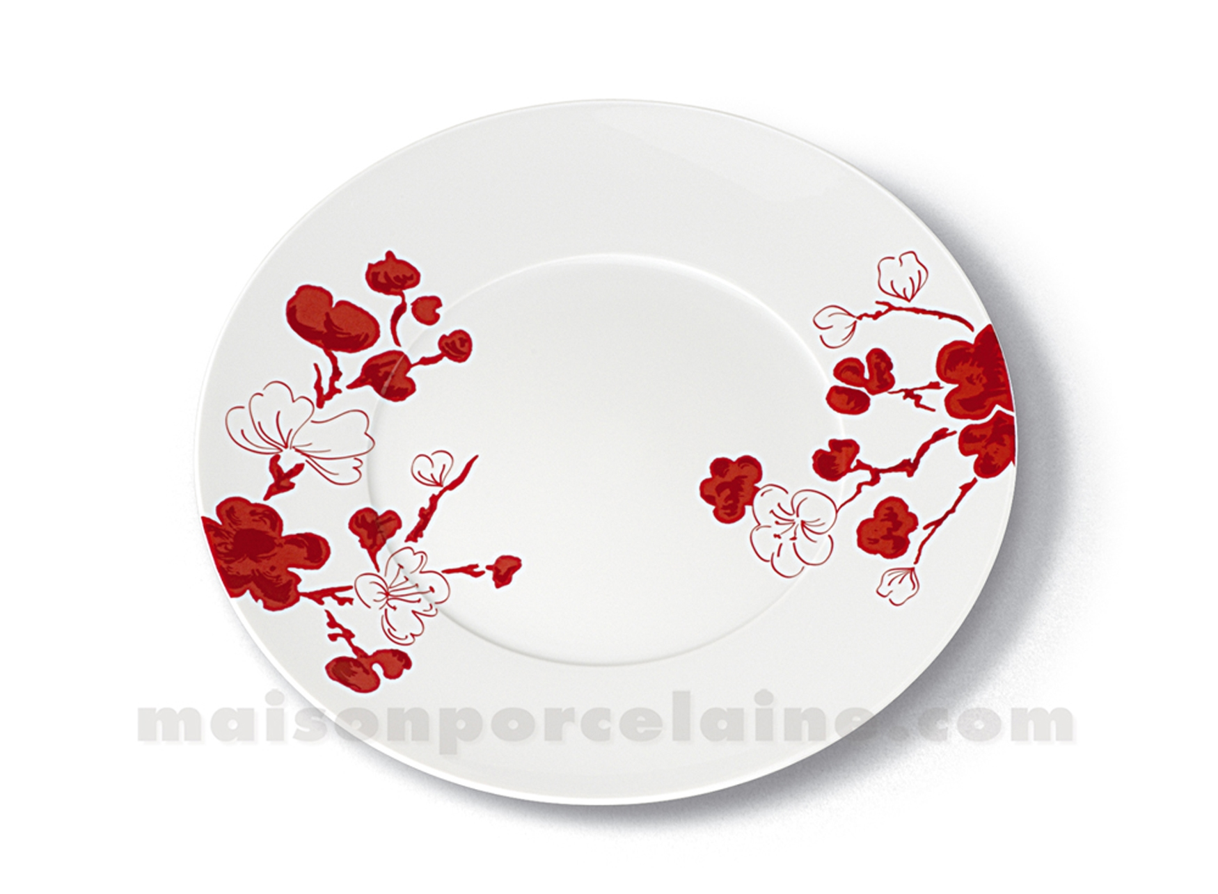 assiette plate porcelaine blanche limoges envie d28. Black Bedroom Furniture Sets. Home Design Ideas