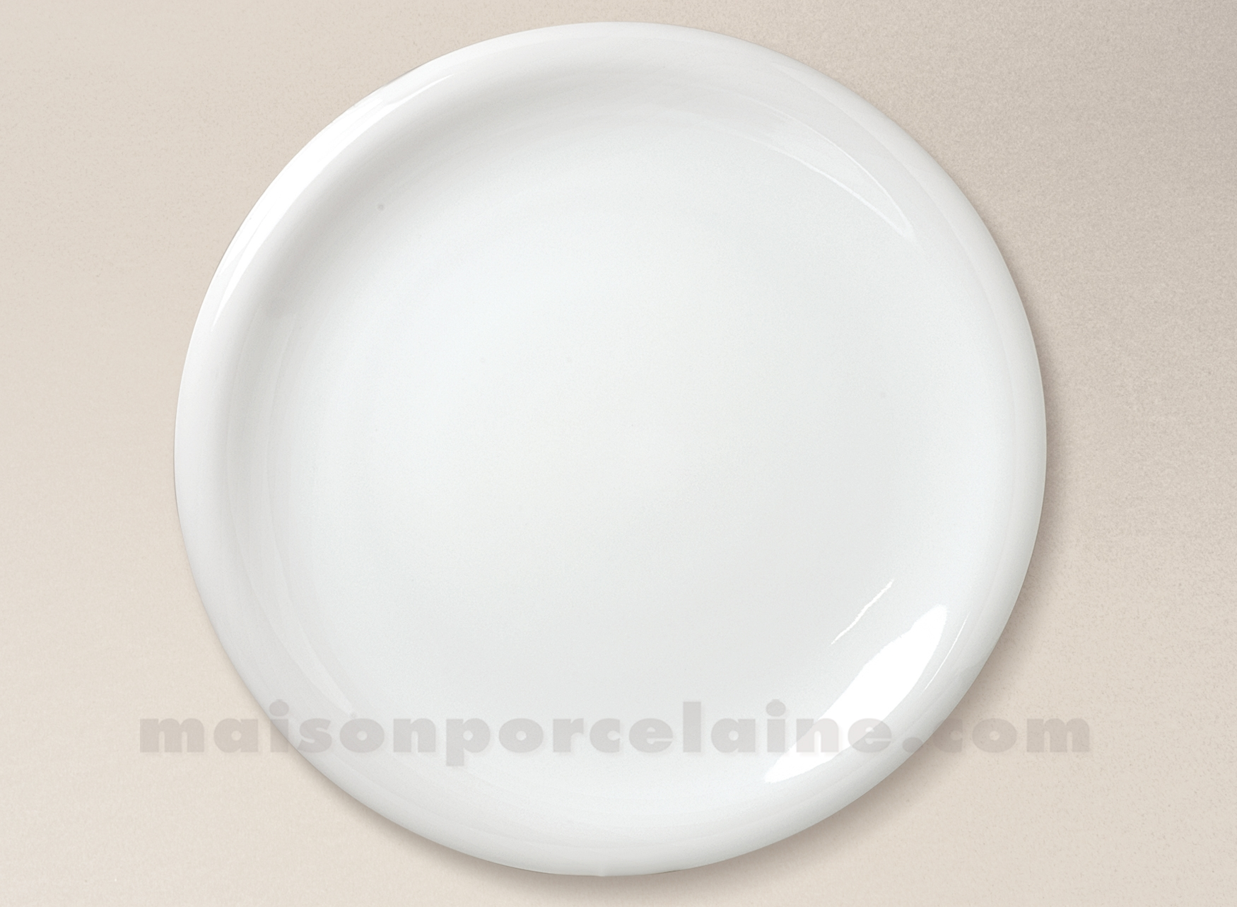 assiette presentation porcelaine blanche ronda d31 5. Black Bedroom Furniture Sets. Home Design Ideas