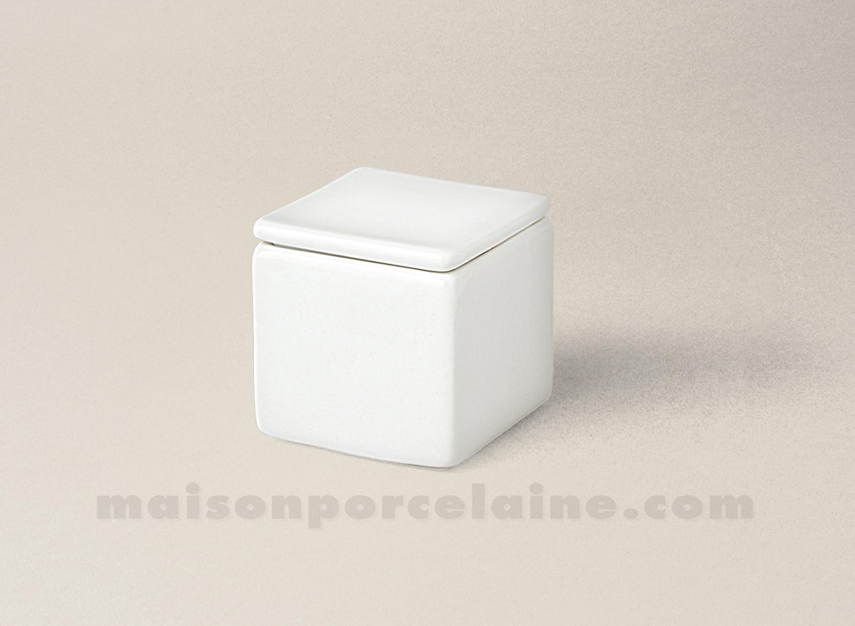 boite dent de lait porcelaine blanche carree 4x4 maison. Black Bedroom Furniture Sets. Home Design Ideas