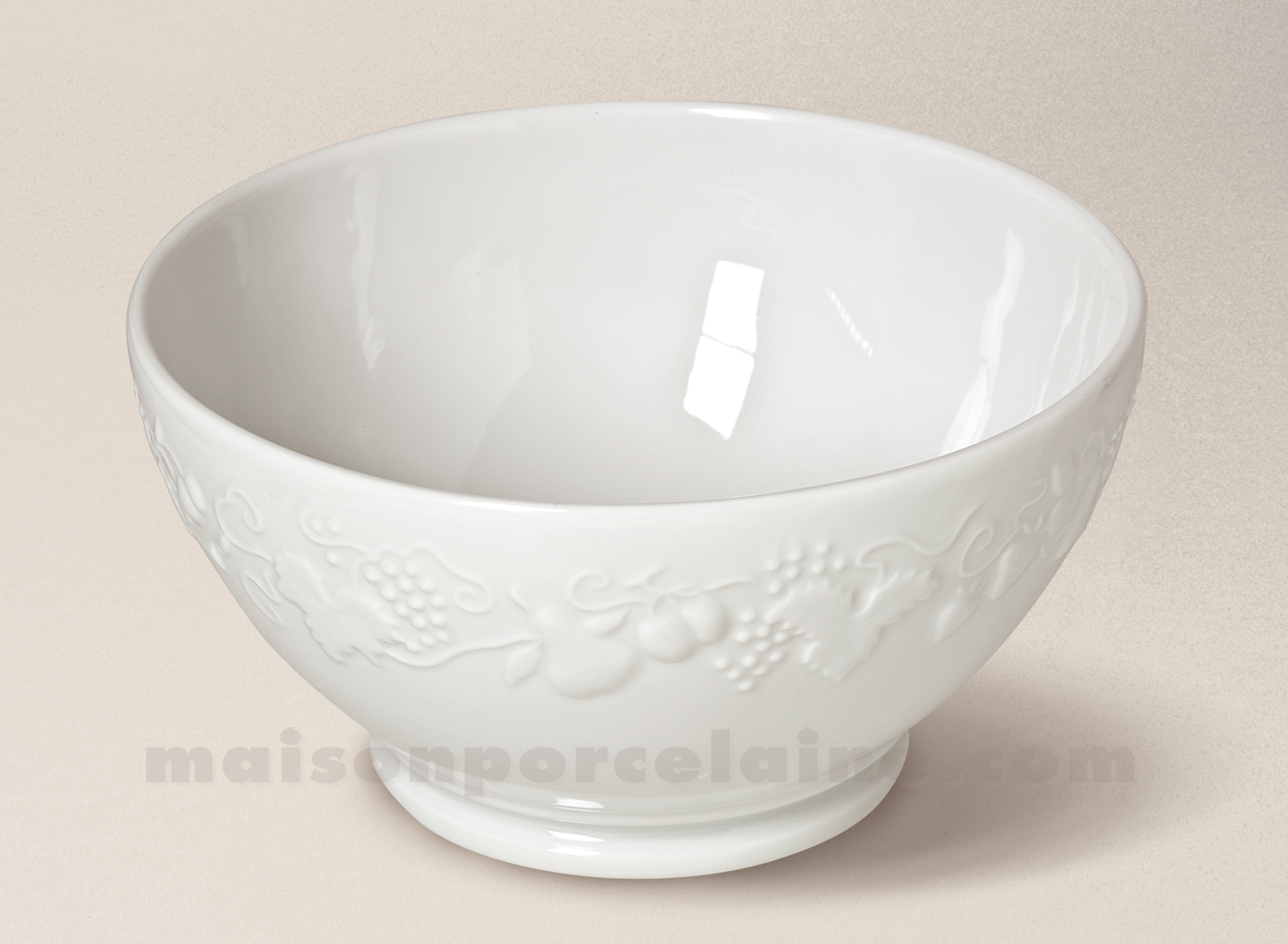 bol porcelaine table de cuisine