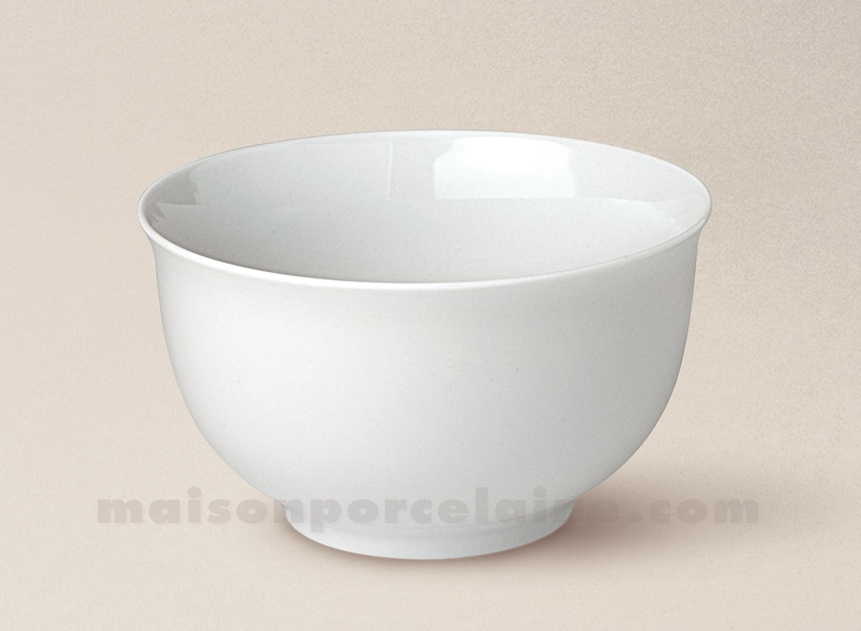 bol enfant porcelaine blanche 12 8 maison de la porcelaine. Black Bedroom Furniture Sets. Home Design Ideas