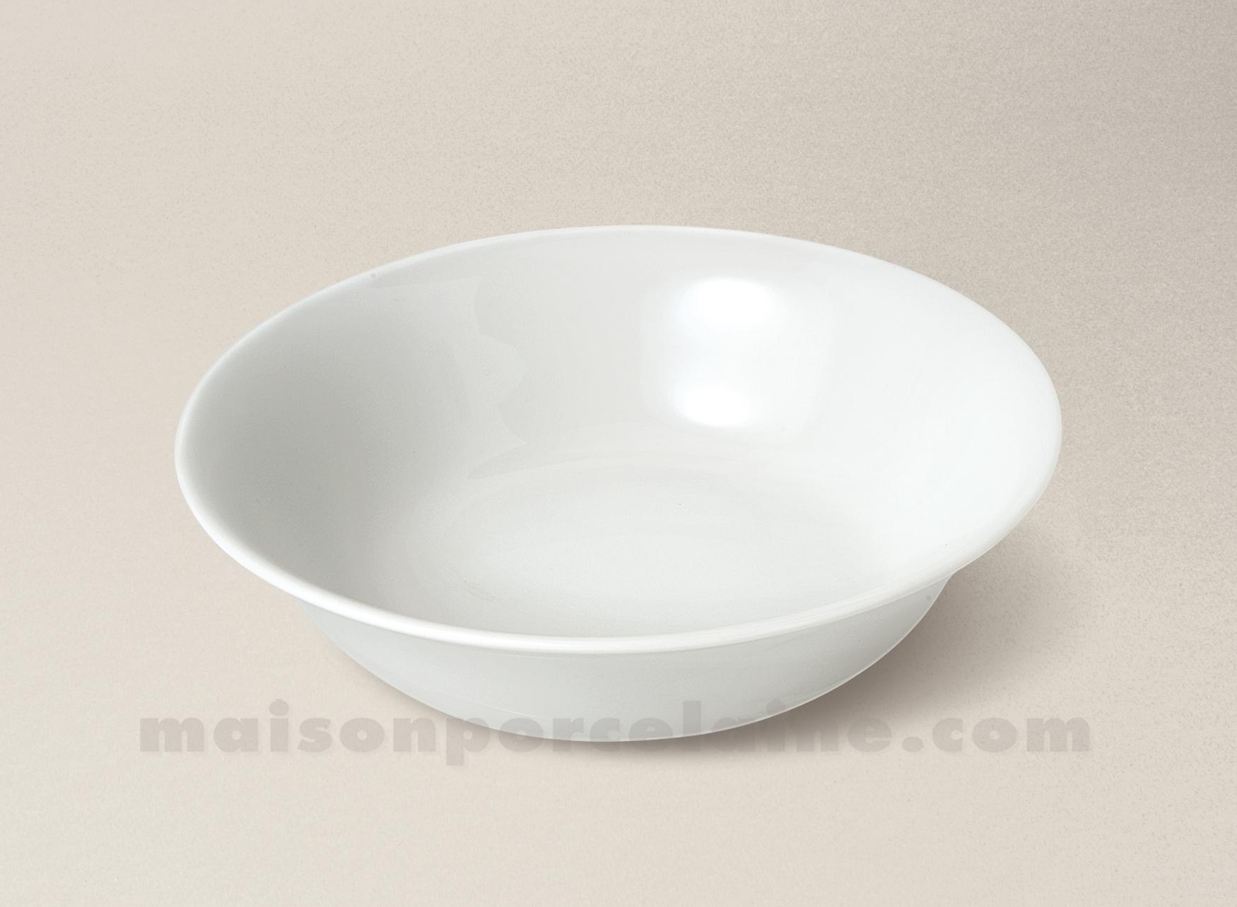 bol salade cereales limoges porcelaine blanche haussmann d18 maison de la porcelaine. Black Bedroom Furniture Sets. Home Design Ideas