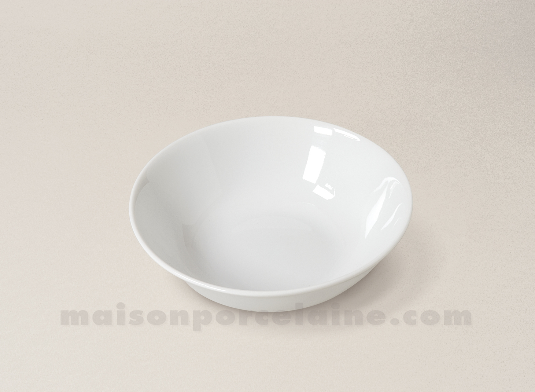 Coupelle creme limoges porcelaine blanche envie d16 for Maison de la porcelaine