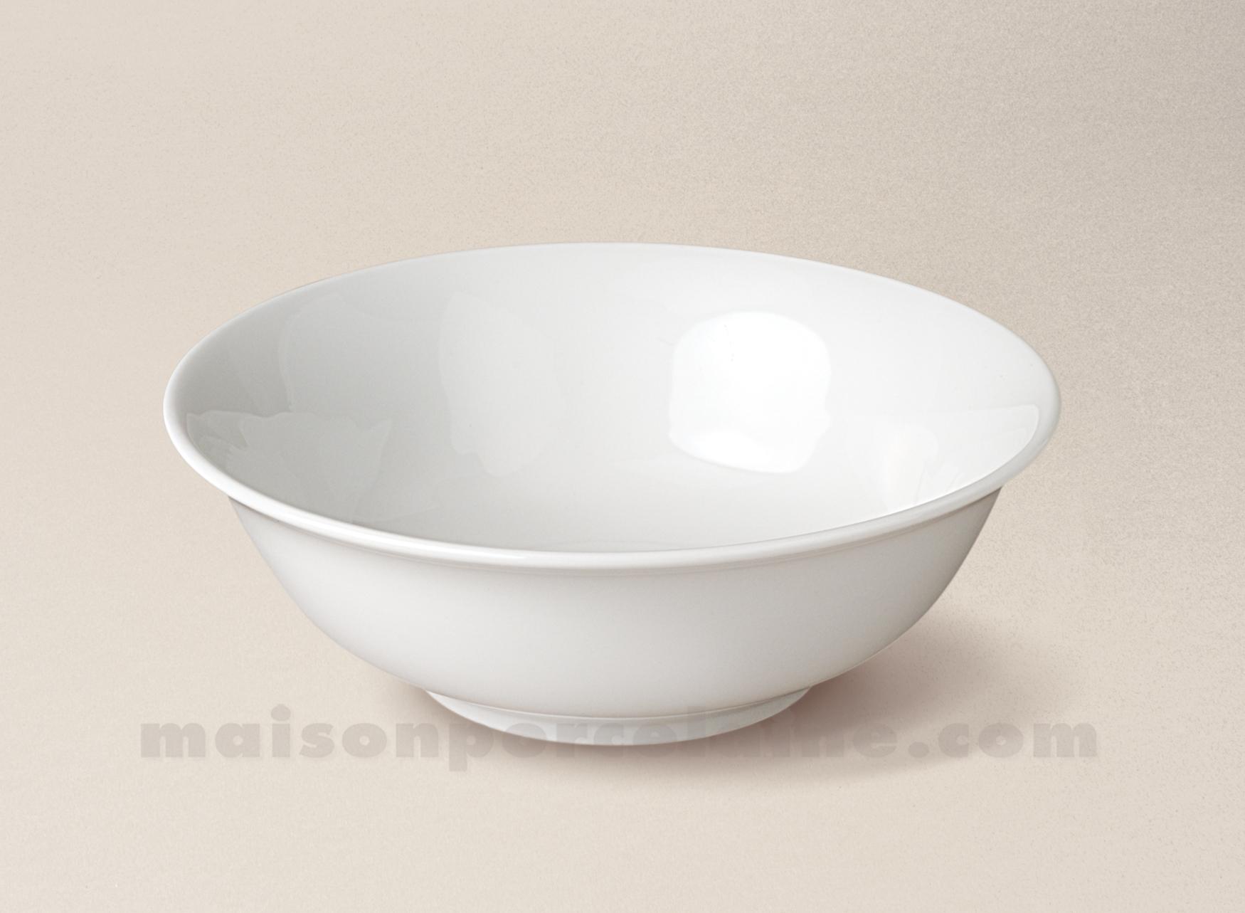 coupelle porcelaine blanche conique sologne 16 5x6 maison de la porcelaine. Black Bedroom Furniture Sets. Home Design Ideas
