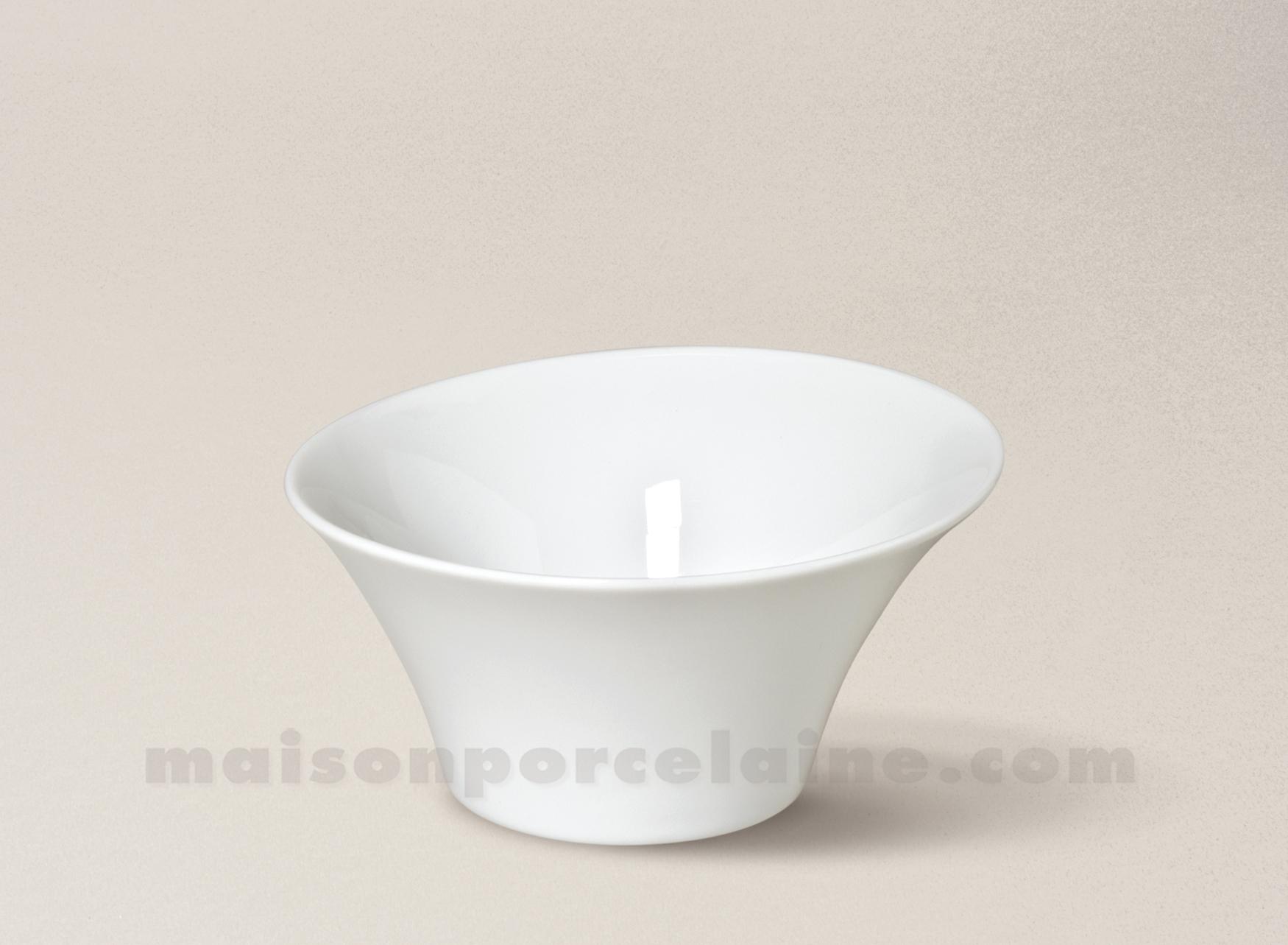 Coupelle porcelaine blanche kosmos 11 5x6 18cl maison de for Maison de la porcelaine