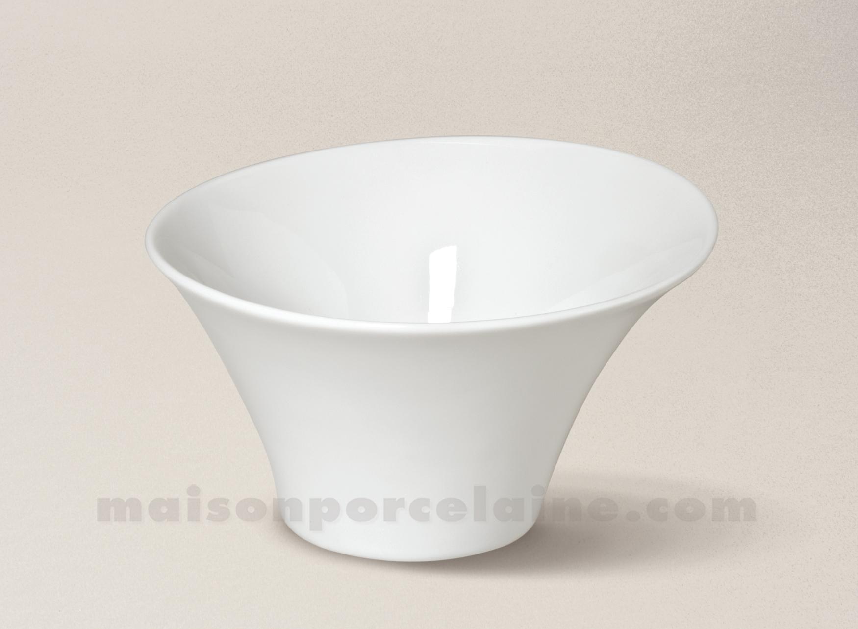 coupelle porcelaine blanche kosmos 14x8 36cl maison de la porcelaine. Black Bedroom Furniture Sets. Home Design Ideas