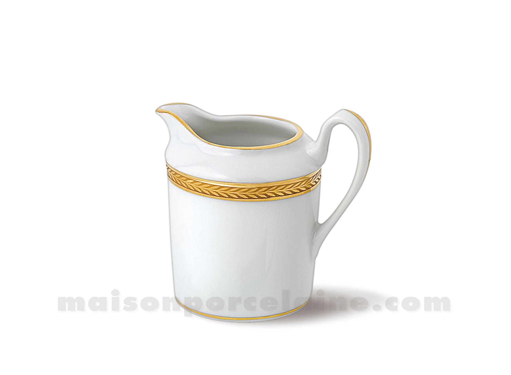 Cremier Limoges Empire 10x7 18cl Maison De La Porcelaine