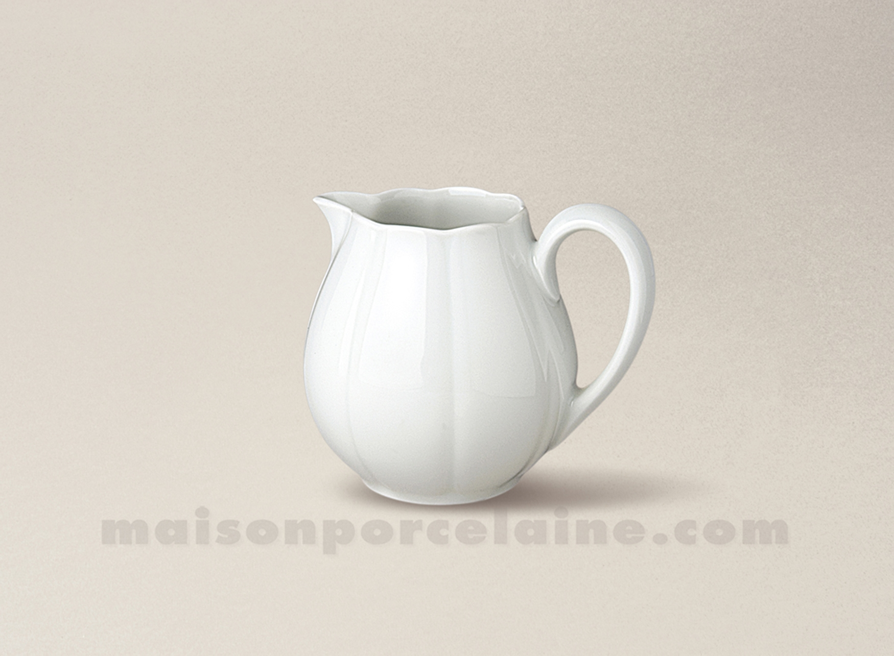Cremier limoges porcelaine blanche nymphea 2 tasses for Maison de la porcelaine