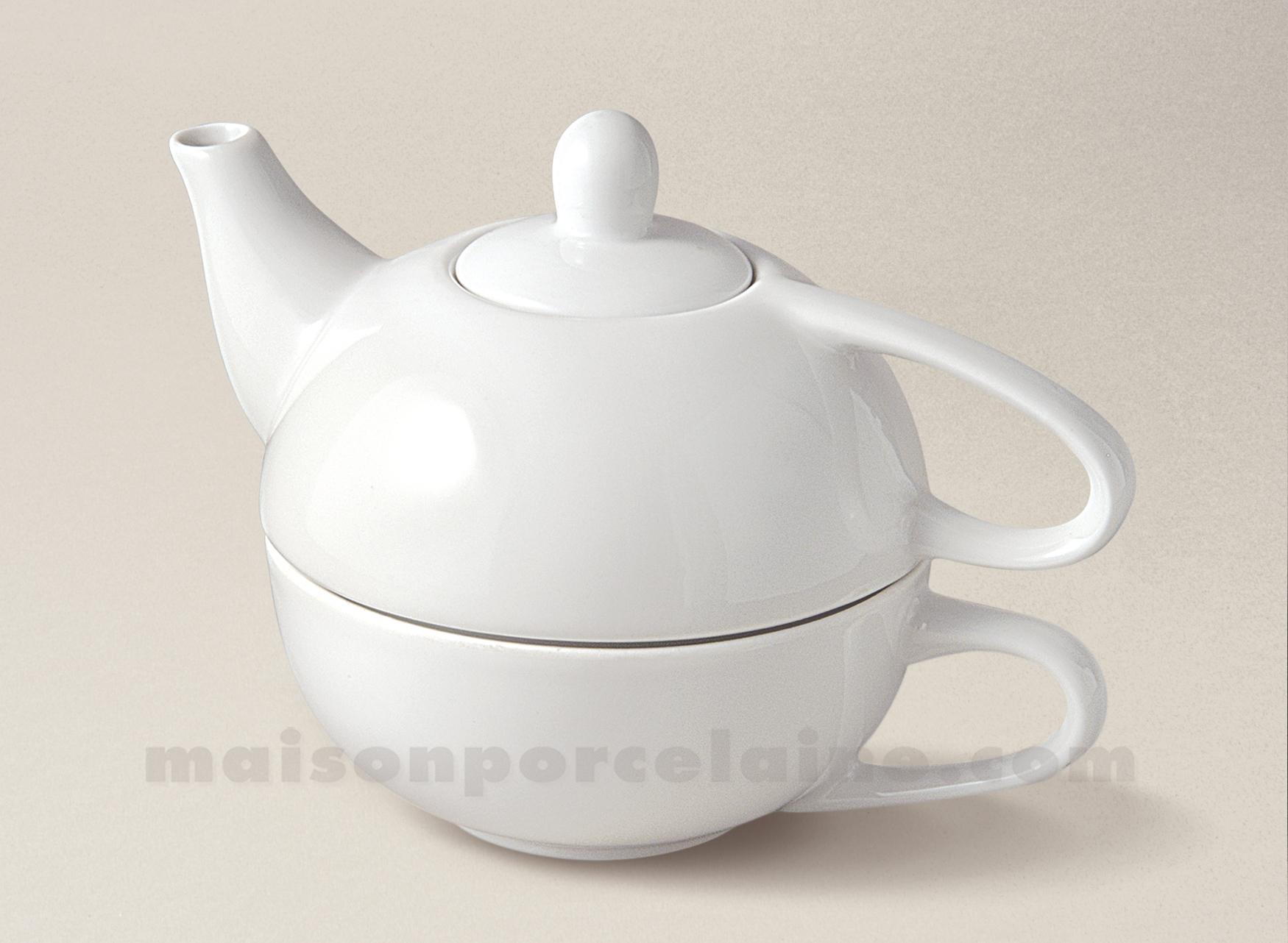 Egoiste porcelaine blanche gm sans soucoupe 12x14 45 32cl maison de la po - La porcelaine blanche ...