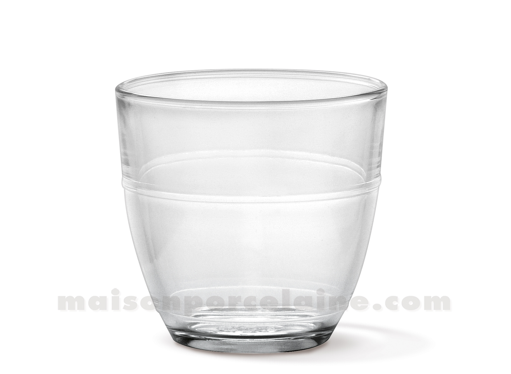 goblet duralex gigogne 22 cl verre trempe coffret de 6 maison de la porcelaine. Black Bedroom Furniture Sets. Home Design Ideas