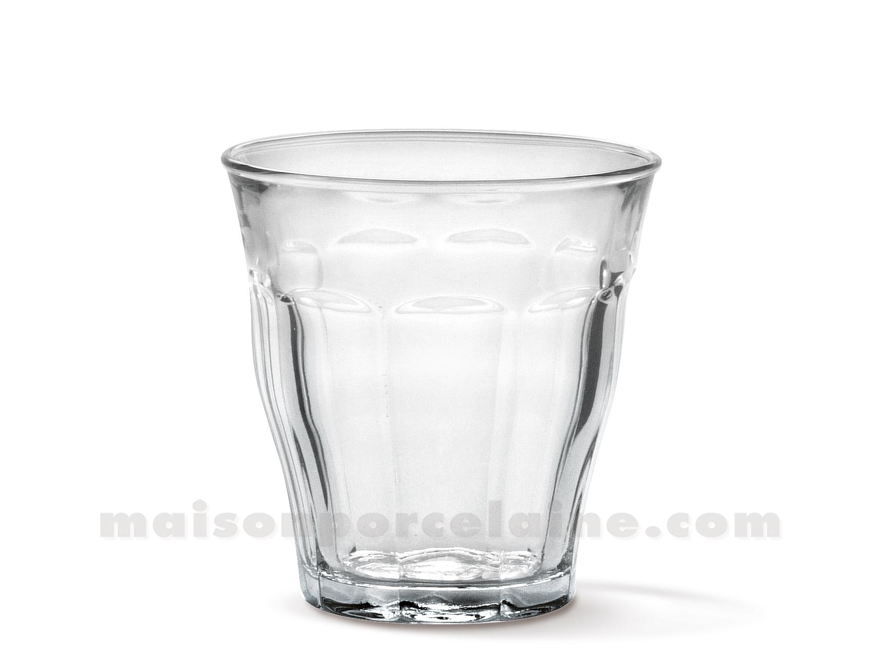 goblet duralex picardie 16 cl verre trempe coffret de 6 maison de la porcelaine. Black Bedroom Furniture Sets. Home Design Ideas
