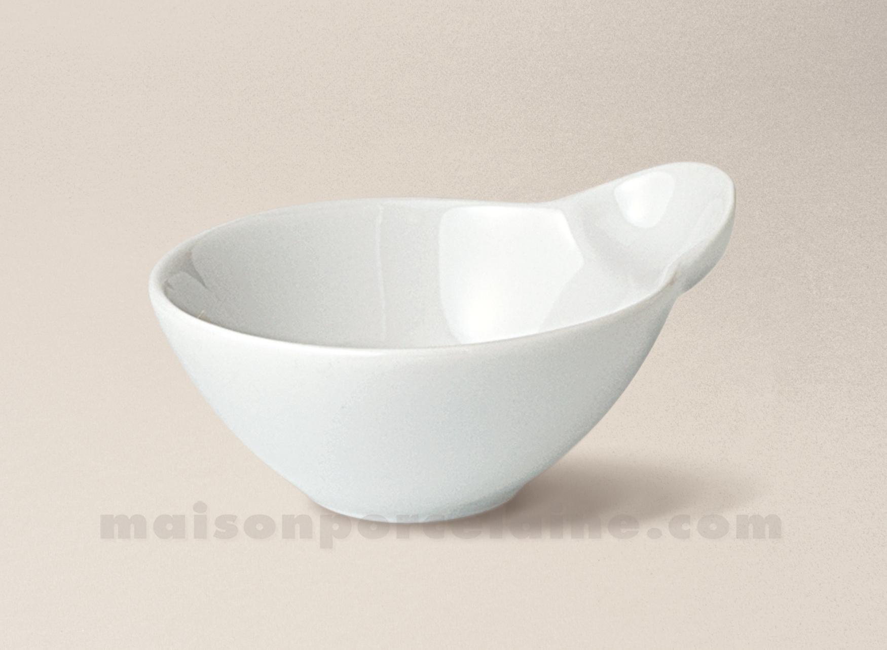 Mise en bouche porcelaine blanche pouce 8x6 5 maison de for Interieur de la bouche blanche