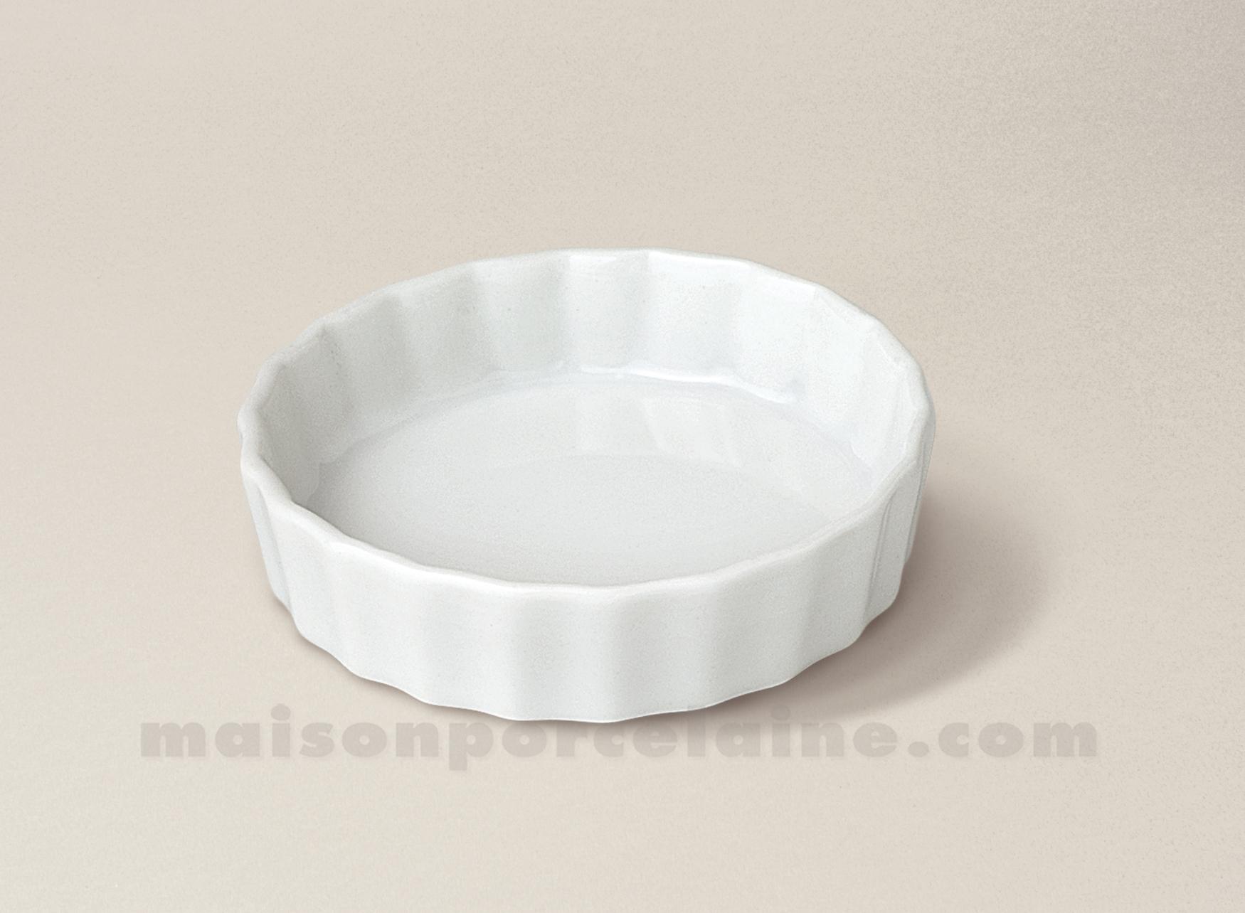 Mise en bouche porcelaine blanche tartelette 8x3 maison for Interieur de la bouche blanche