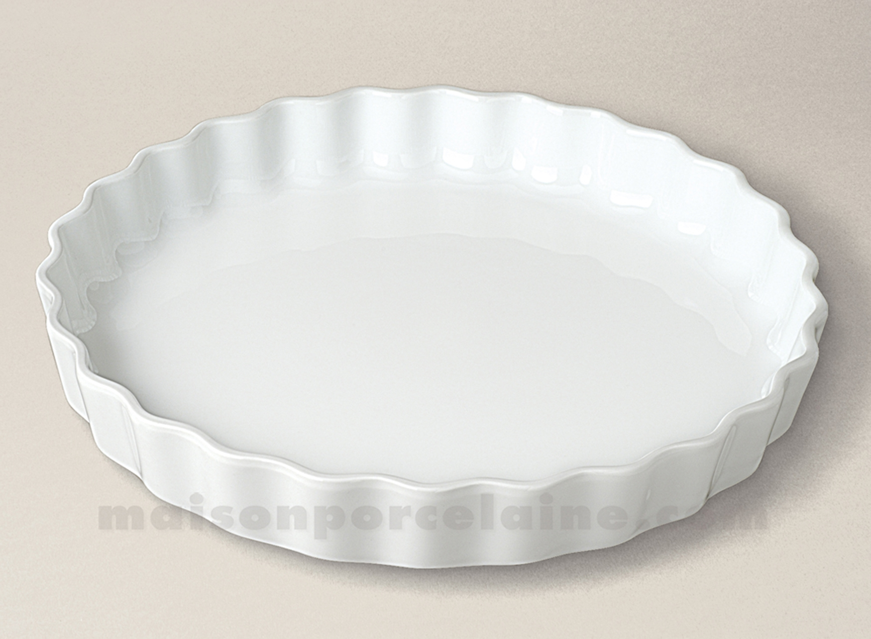 Moule A Tartelette Professionnel moule tarte culinaire 3 toques 33x5 - maison de la porcelaine