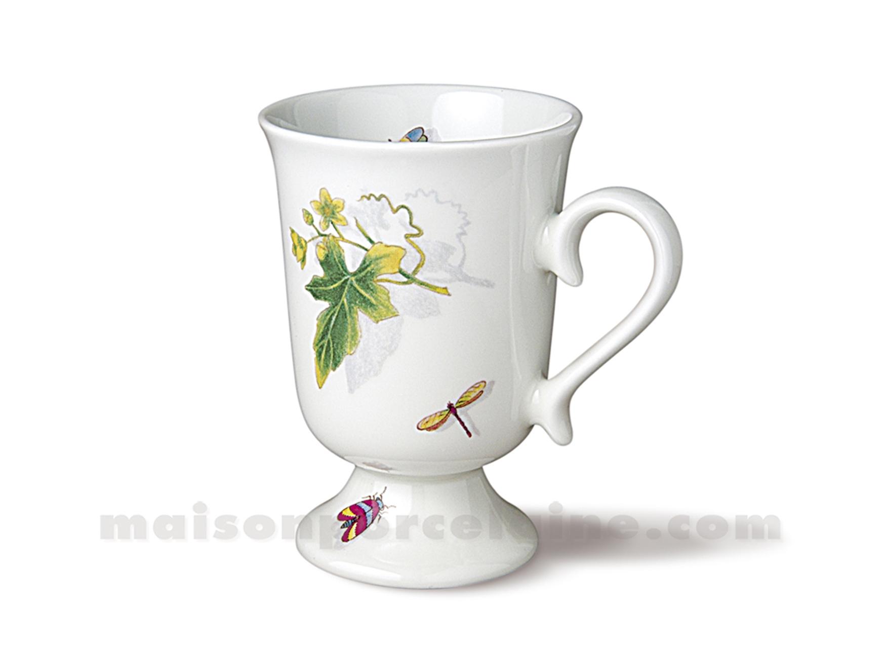 mug sur pied irish cafe 20clmug pied irish cafe 11 maison de la porcelaine. Black Bedroom Furniture Sets. Home Design Ideas
