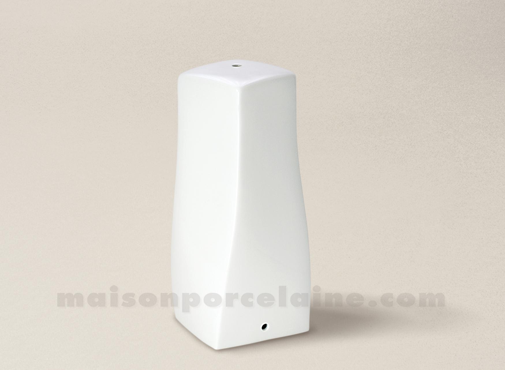 pied de lampe limoges porcelaine blanche vague 2eme 28. Black Bedroom Furniture Sets. Home Design Ideas