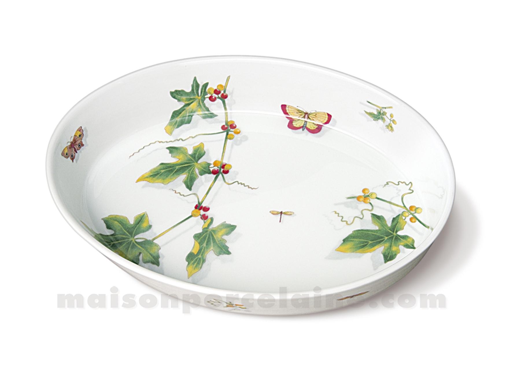 plat ovale sabot gm culinaire 32x23 2l maison de la porcelaine. Black Bedroom Furniture Sets. Home Design Ideas