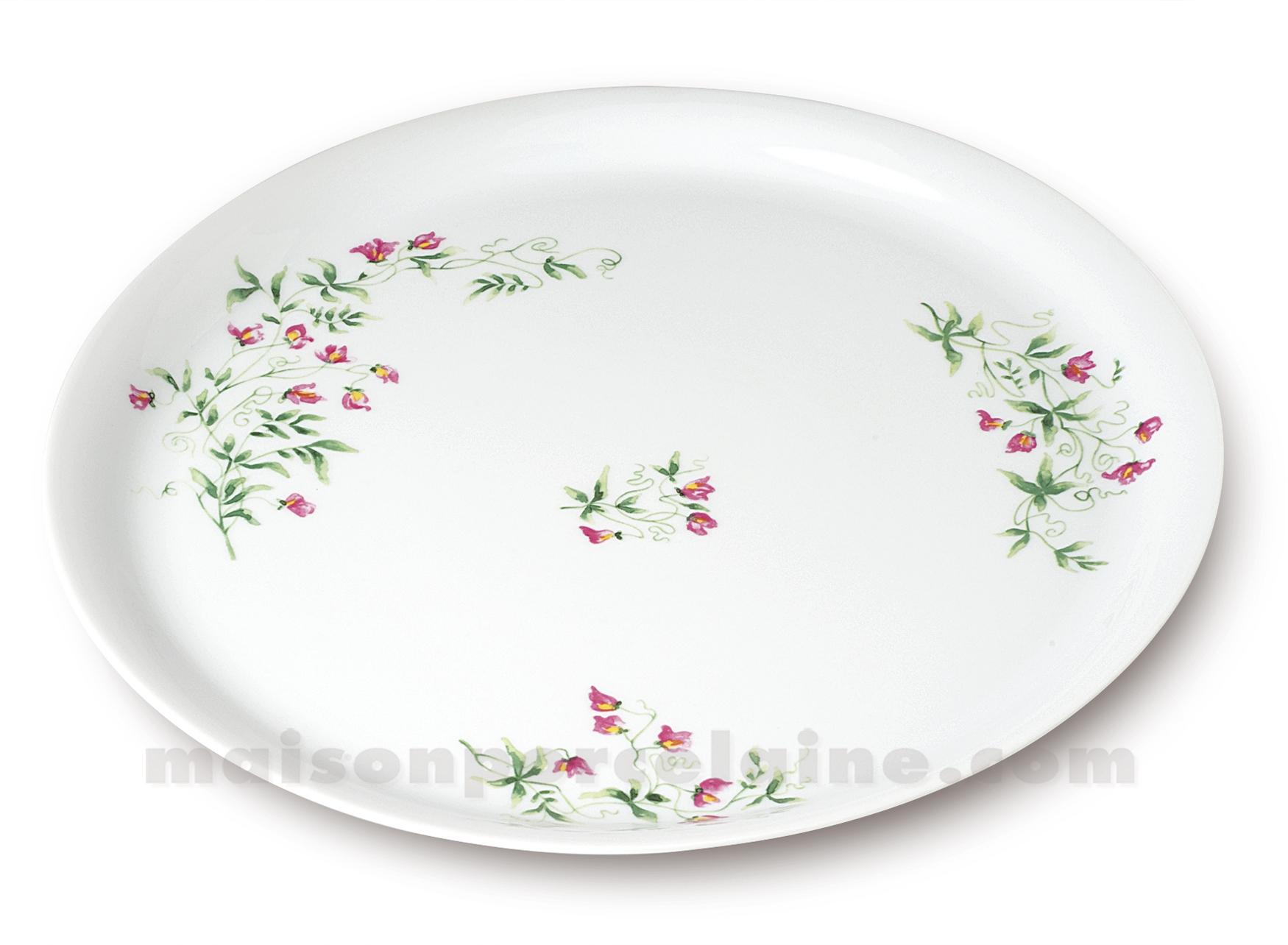 Plat tarte limoges empire d32 maison de la porcelaine for Maison de la porcelaine