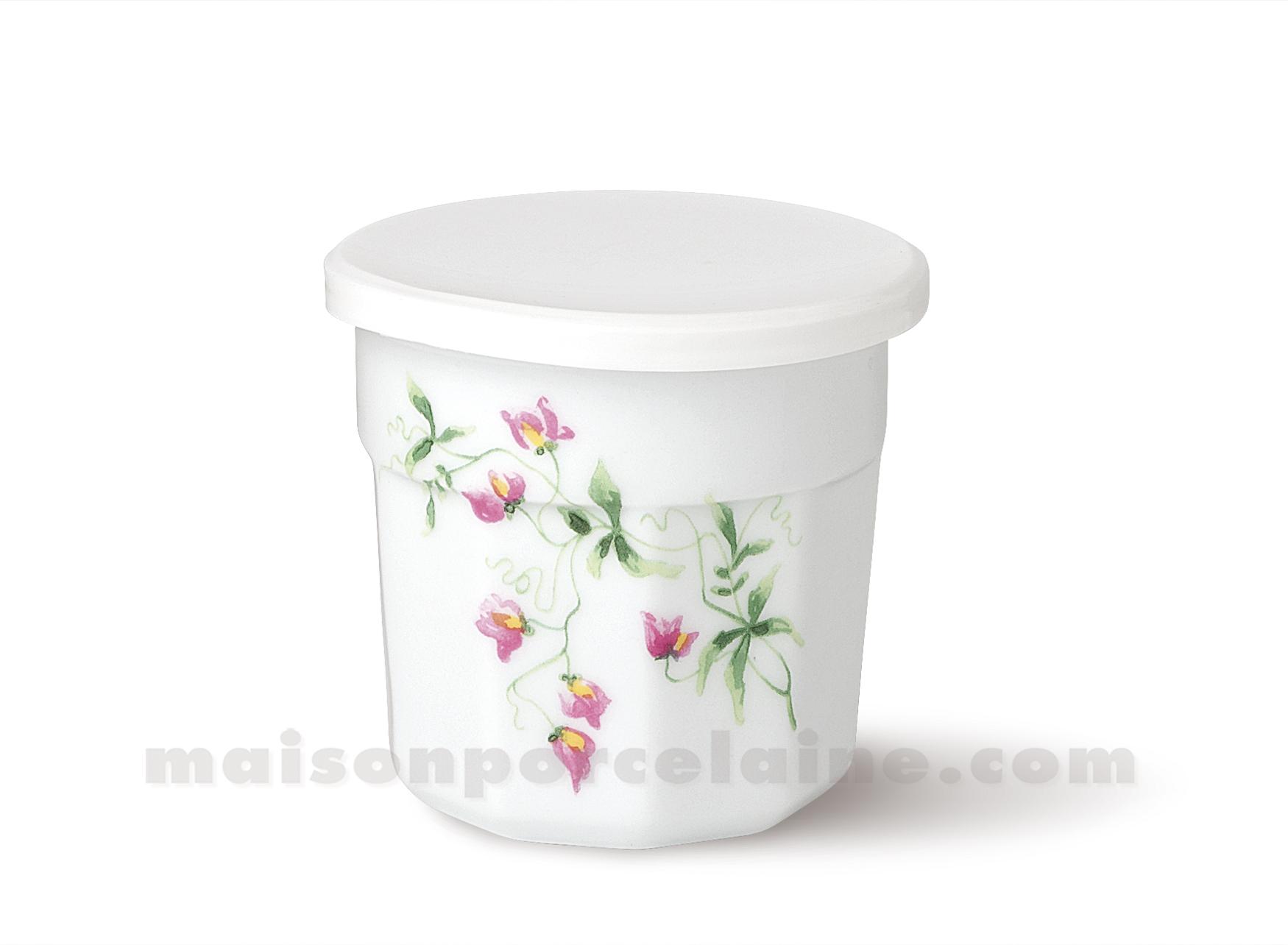 pot confiture couvercle plastique gm 95x10 350grsp maison de la porcelaine. Black Bedroom Furniture Sets. Home Design Ideas