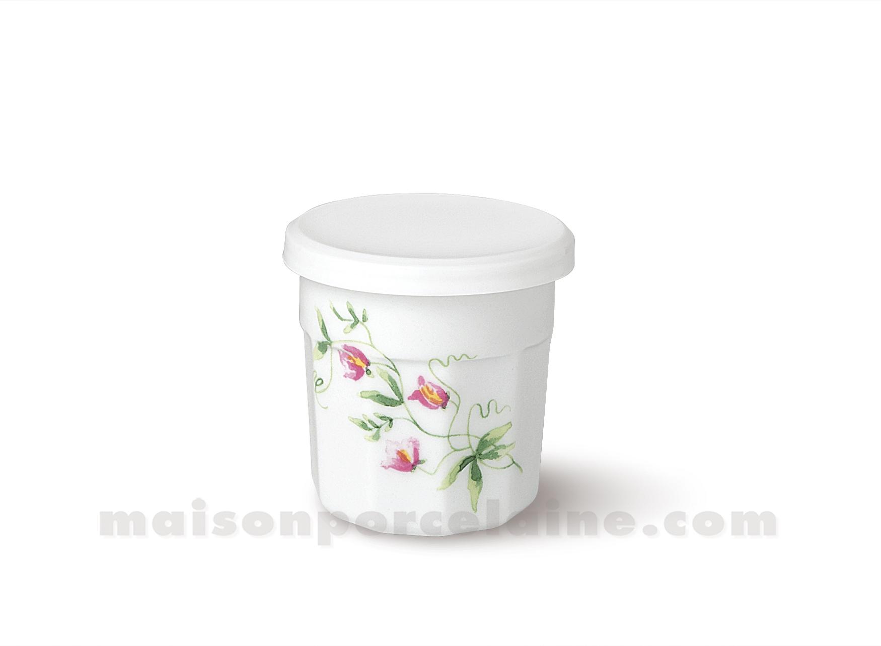 Pot confiture couvercle plastique pm 7x7 120grs maison de la porcelaine - Couvercle pot de confiture ...