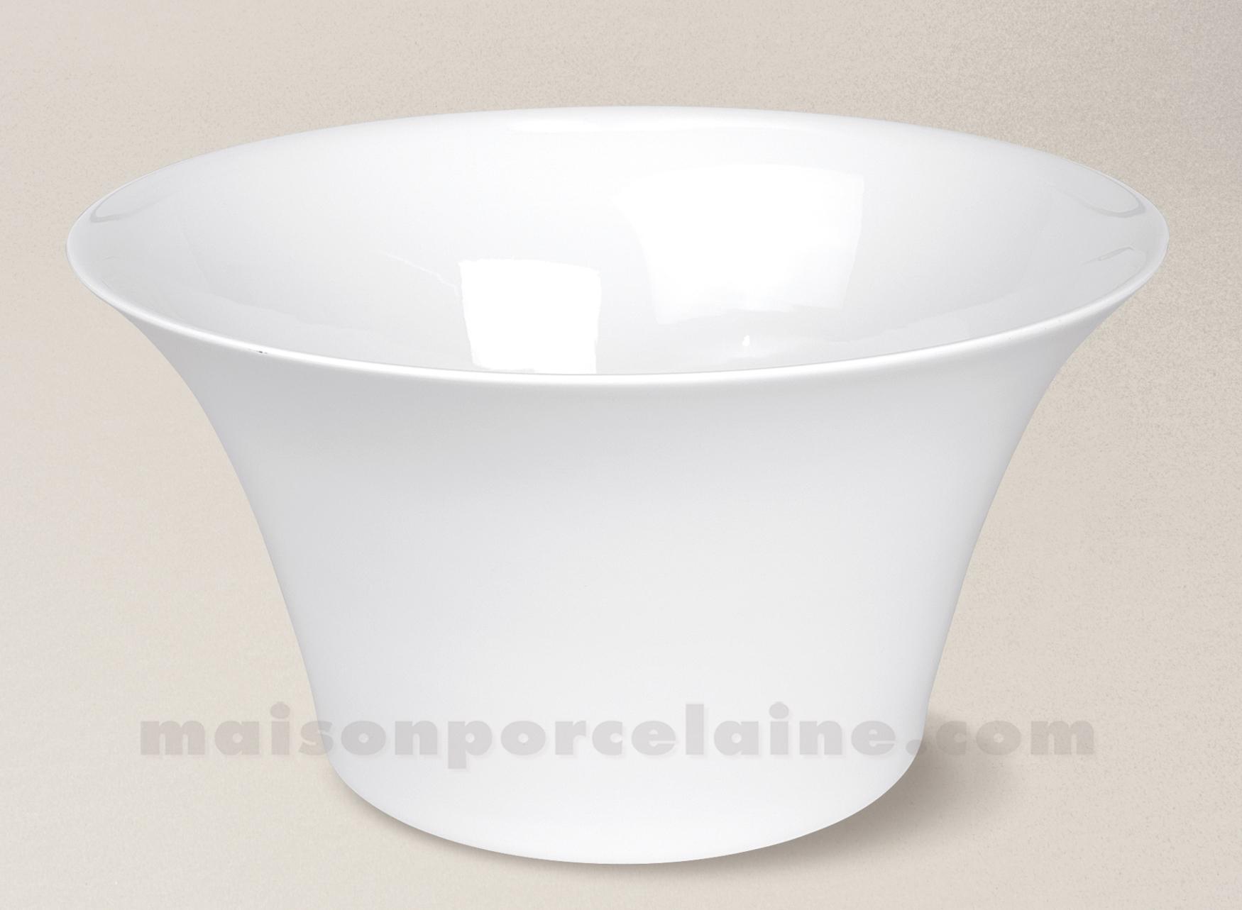 saladier limoges porcelaine blanche haussmann d28 maison de la porcelaine. Black Bedroom Furniture Sets. Home Design Ideas