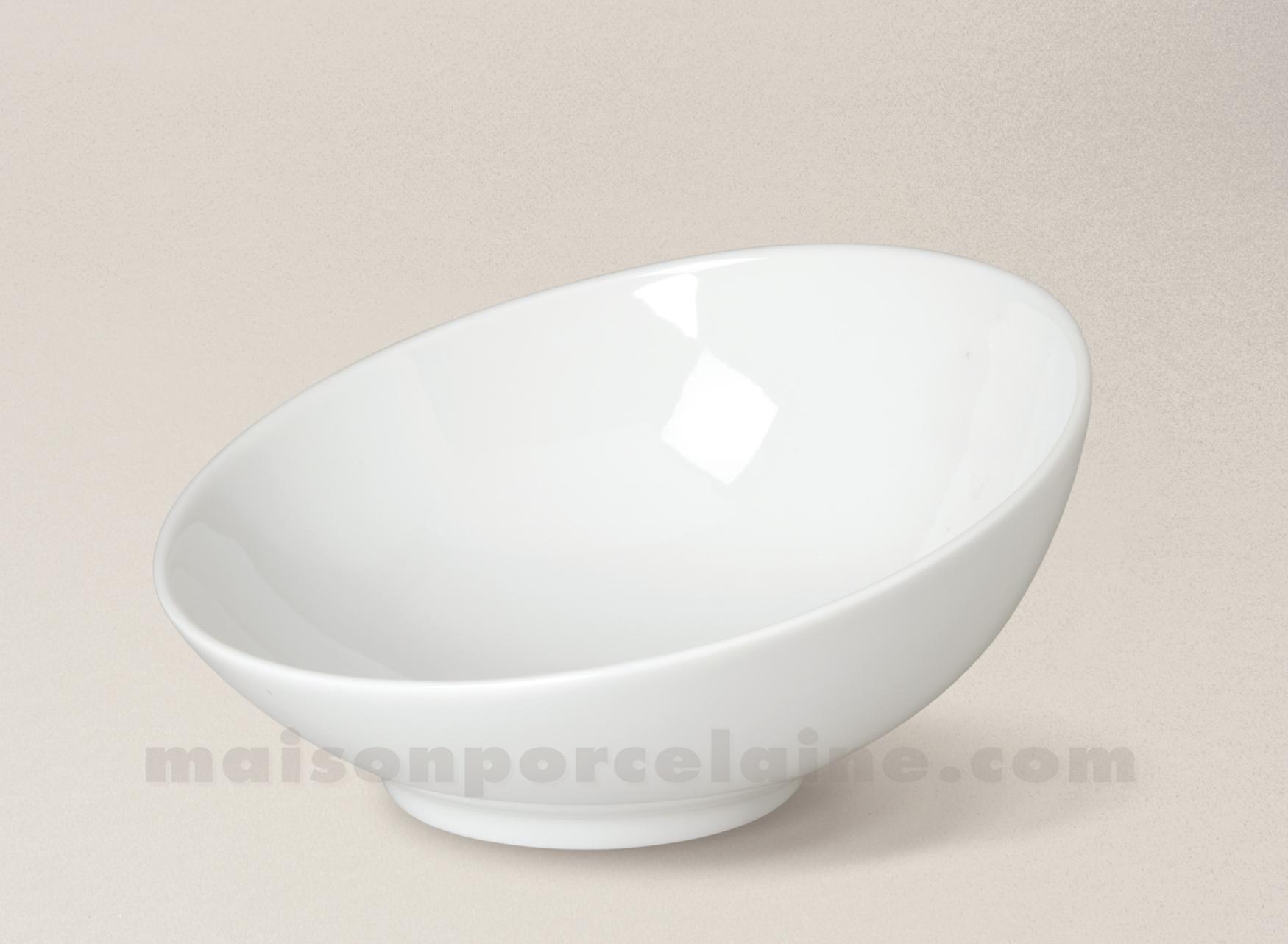 saladier porcelaine blanche coupe d17 maison de la porcelaine. Black Bedroom Furniture Sets. Home Design Ideas