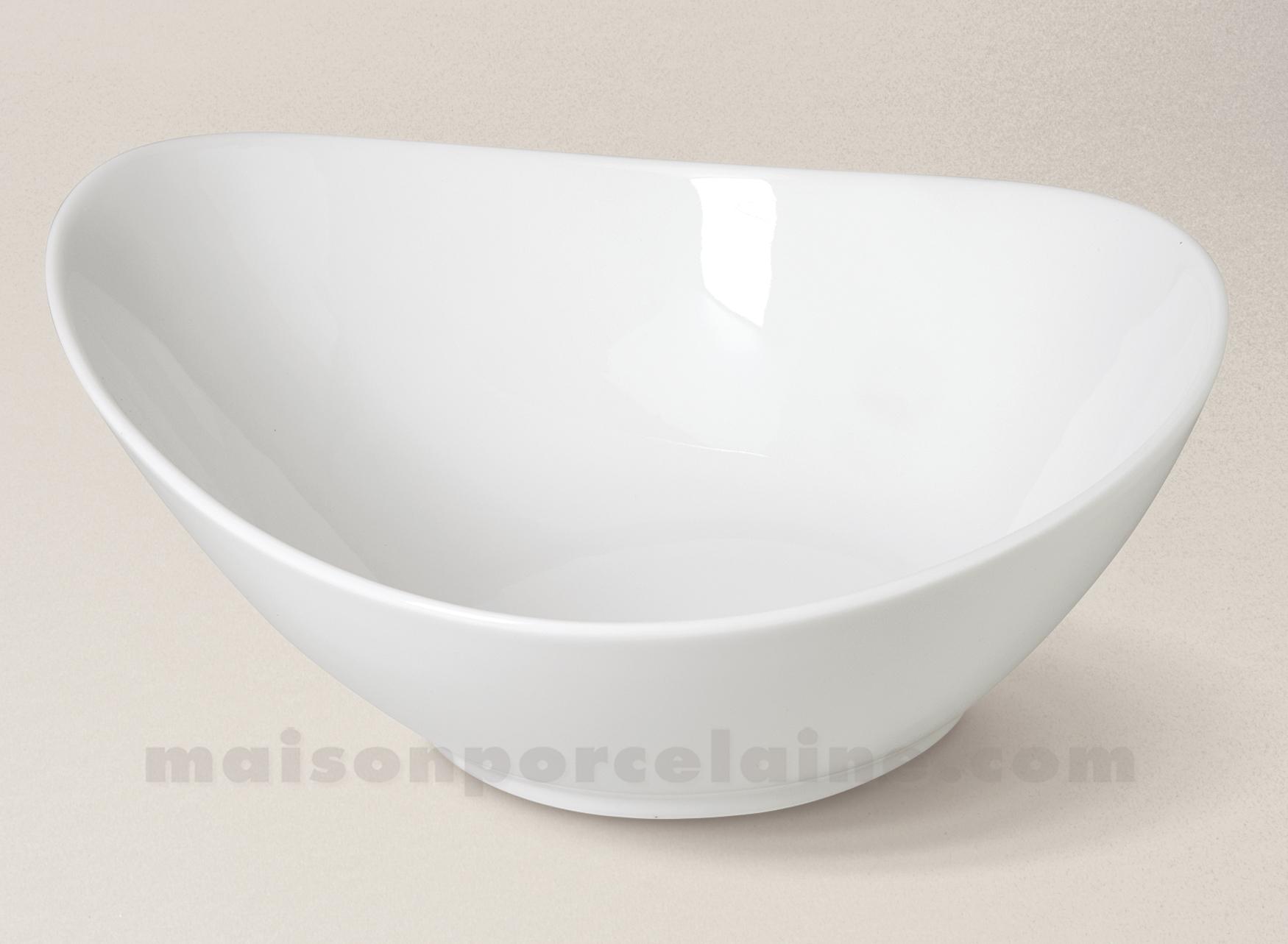saladier porcelaine blanche island maison de la porcelaine. Black Bedroom Furniture Sets. Home Design Ideas
