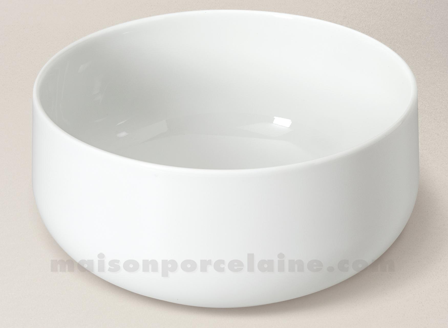 saladier yaka porcelaine blanche 25cm 3l maison de la porcelaine. Black Bedroom Furniture Sets. Home Design Ideas
