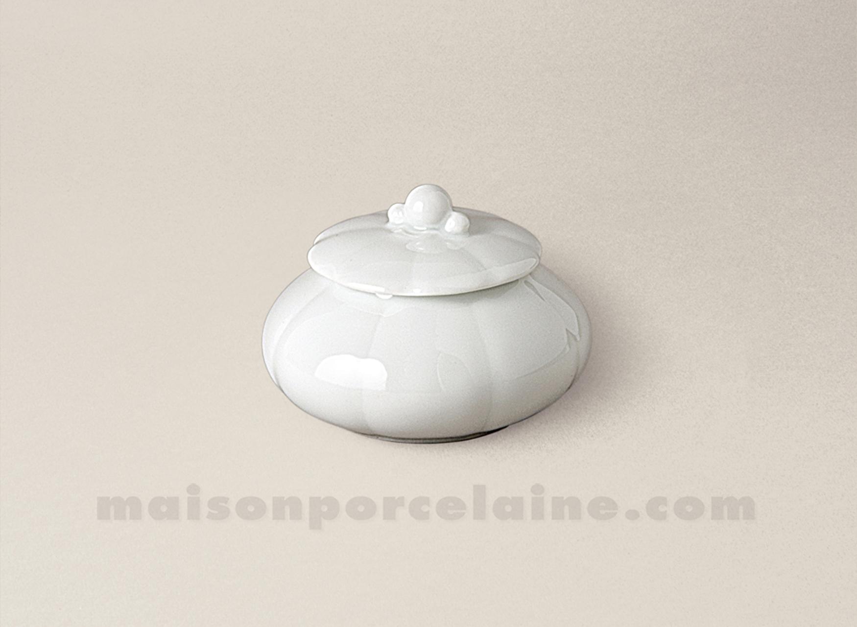 Sucrier limoges porcelaine blanche nymphea 2 tasses 5x7 - La maison de porcelaine ...