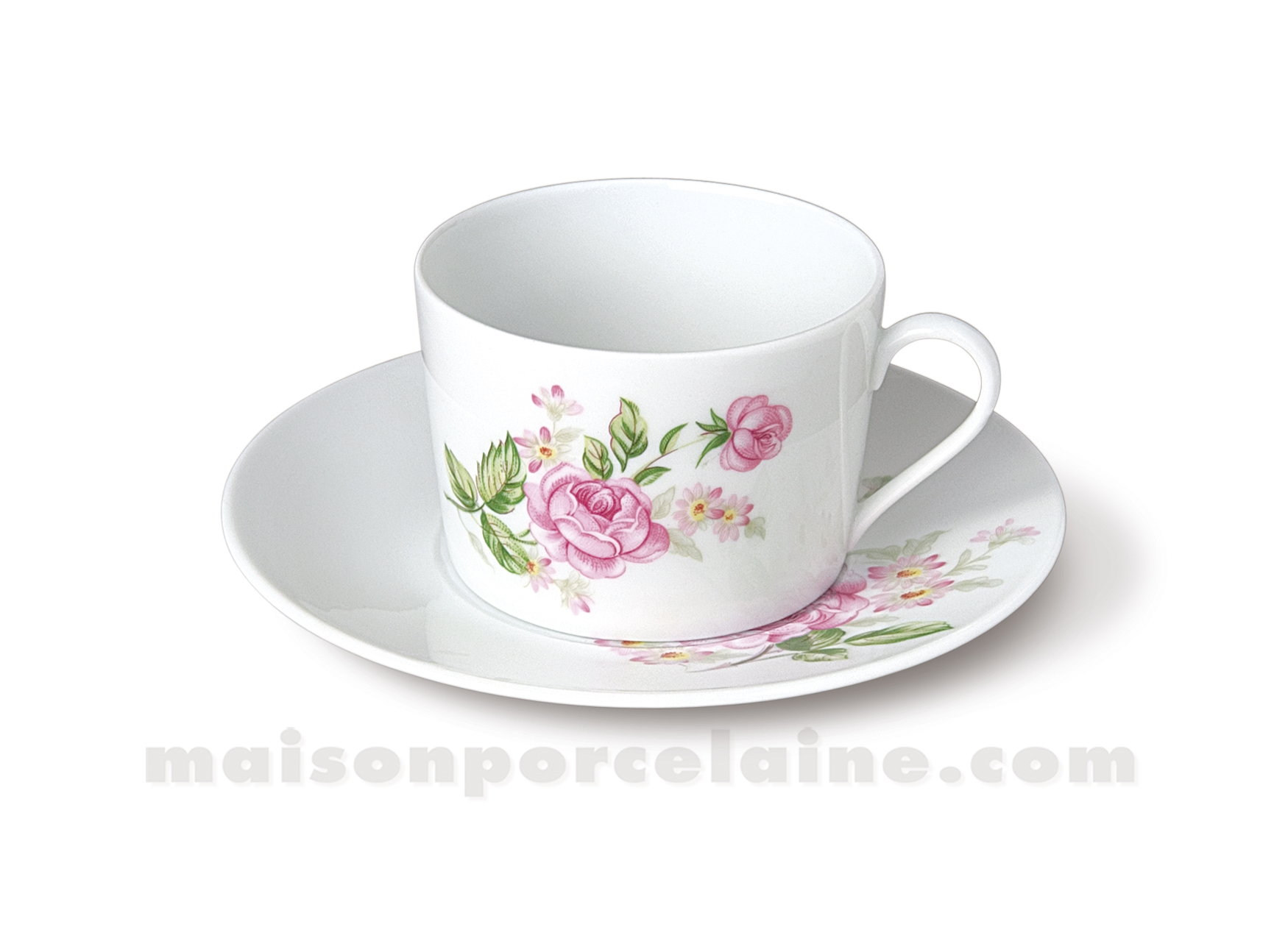 Tasse The Soucoupe Limoges Empire 20cl Maison De La