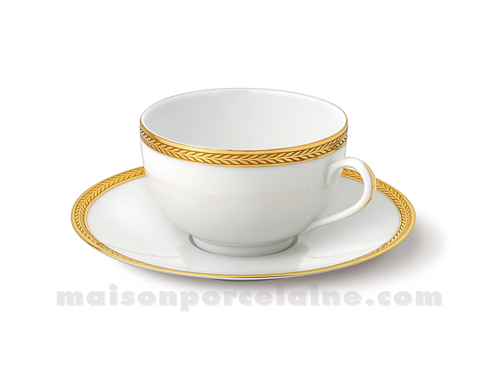 Tasse the soucoupe limoges envie 24cl maison de la - La maison de porcelaine ...