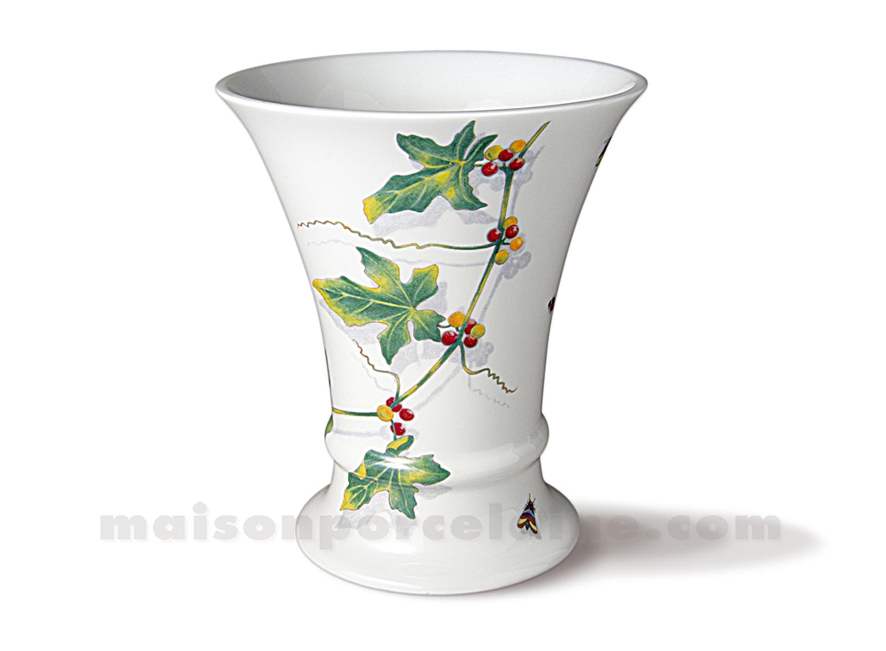 vase limoges empire gm h20 maison de la porcelaine. Black Bedroom Furniture Sets. Home Design Ideas