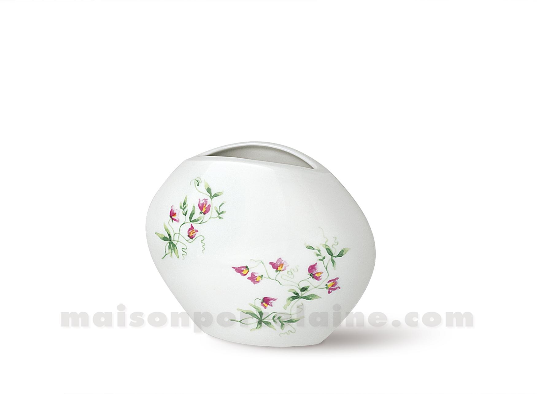Vase limoges manathan 12x15 maison de la porcelaine for Ma maison limoges