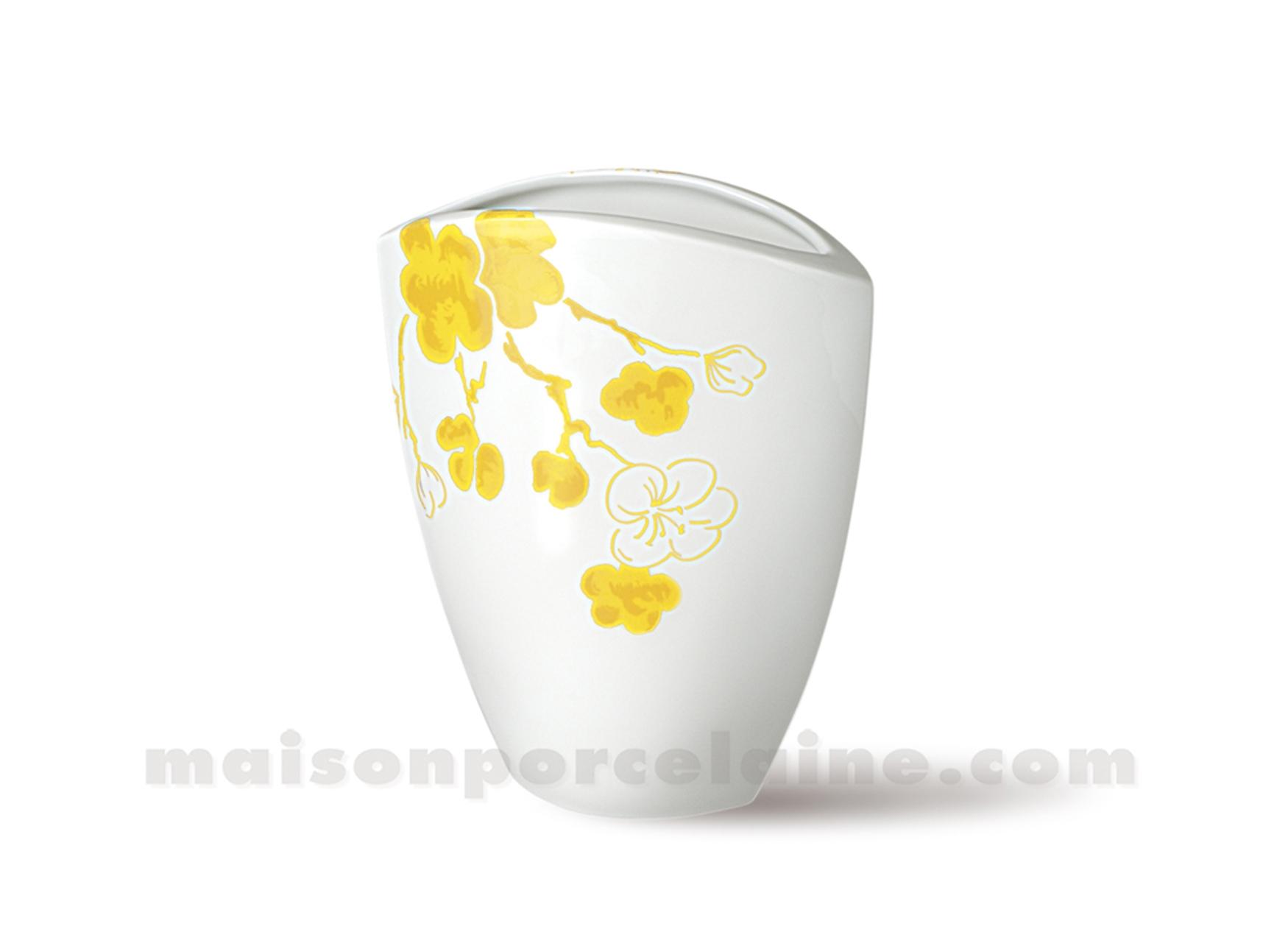 Vase limoges manathan 17x14 maison de la porcelaine for Ma maison limoges