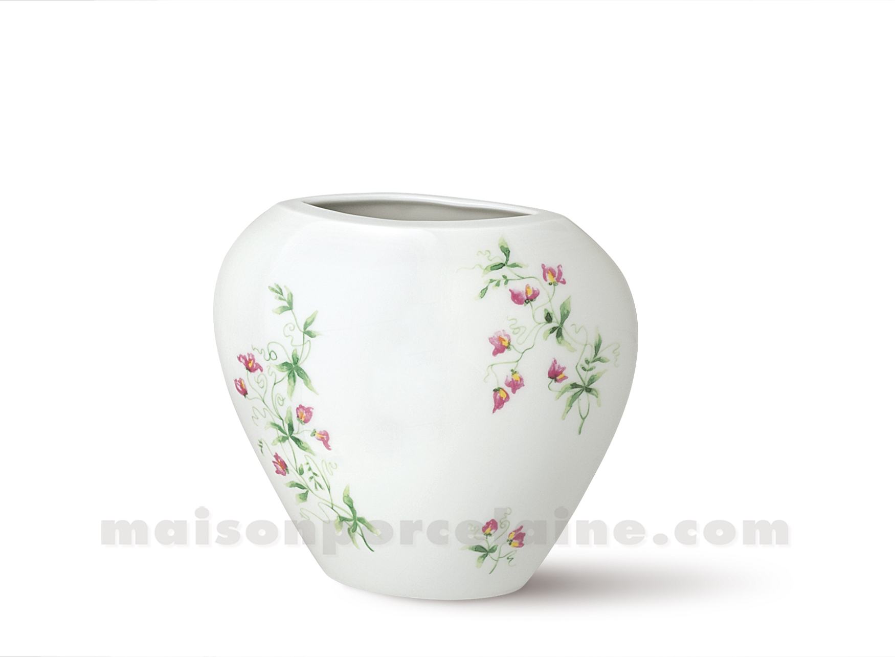 Vase limoges manathan 18x16 maison de la porcelaine for Ma maison limoges