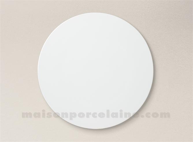 assiette dessert porcelaine blanche osaka d23 maison de la porcelaine. Black Bedroom Furniture Sets. Home Design Ideas