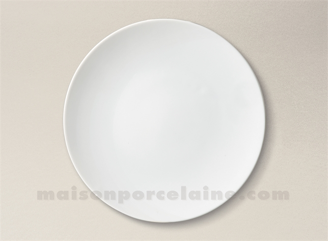 assiette plate porcelaine blanche artois d25 maison de la porcelaine. Black Bedroom Furniture Sets. Home Design Ideas