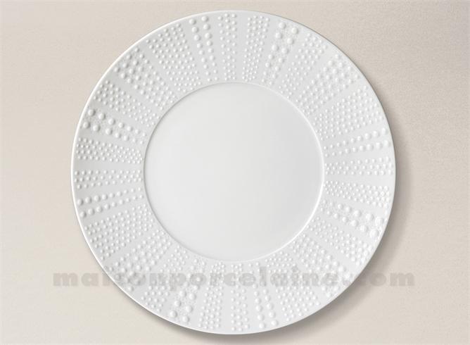 assiette presentation pate extra blanche limoges sania d31 5 maison de la porcelaine. Black Bedroom Furniture Sets. Home Design Ideas