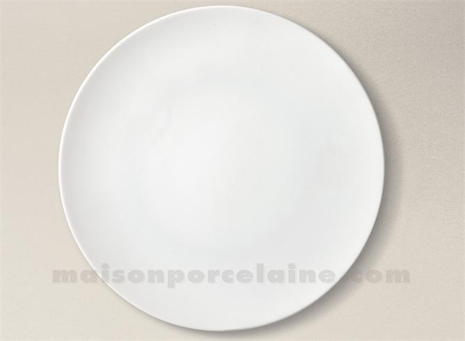 assiette presentation porcelaine blanche artois d32 maison de la porcelaine. Black Bedroom Furniture Sets. Home Design Ideas