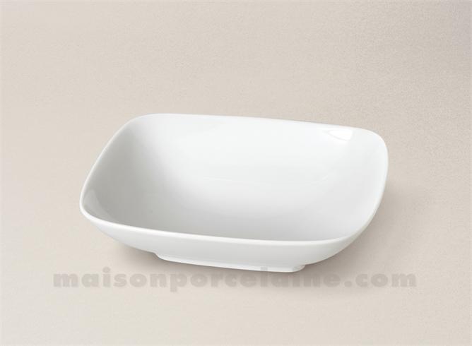 assiette rectangulaire creuse porcelaine blanche mikado. Black Bedroom Furniture Sets. Home Design Ideas