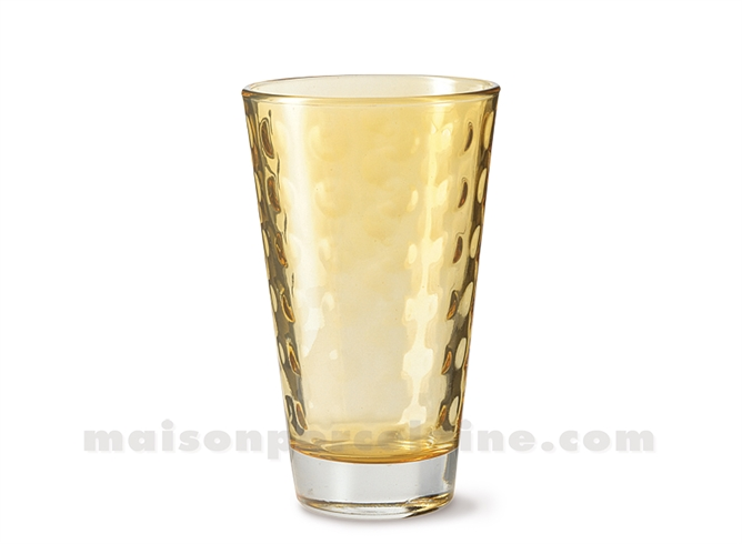 GOBELET HAUT / SODA / LONG DRINK OPTIC MARRONE 30CL 13X8