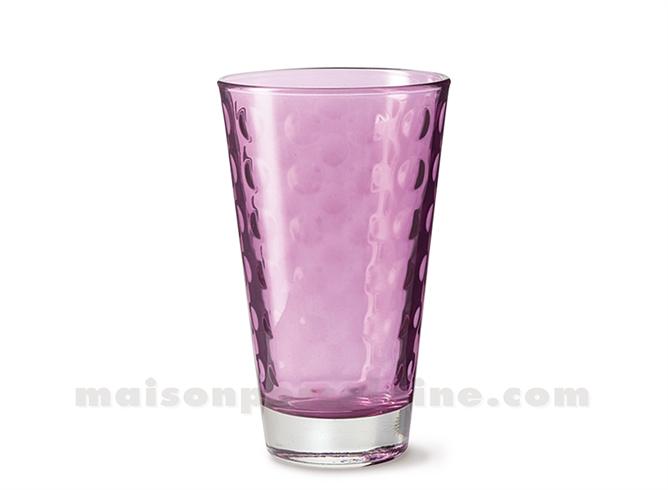 GOBELET HAUT / SODA / LONG DRINK OPTIC VIOLA 30CL 13X8