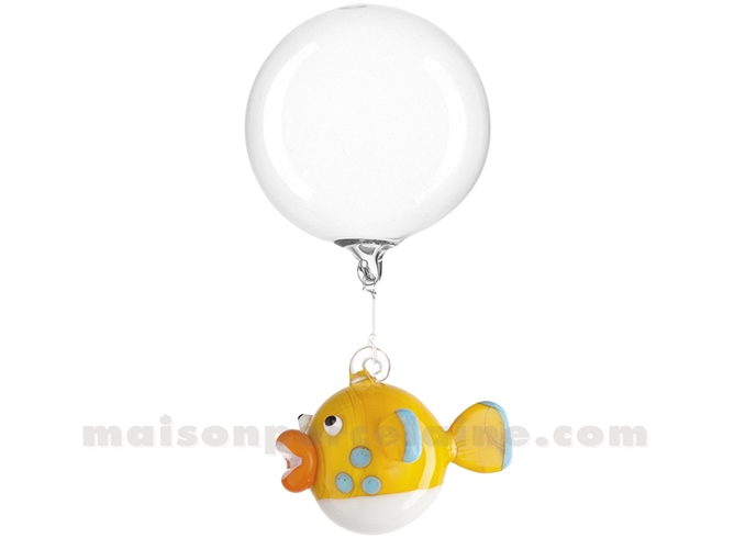 POISSON BALLON JAUNE