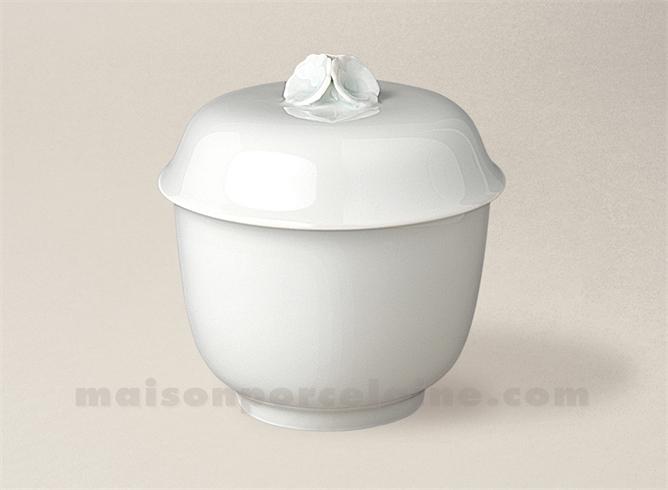pot rond chantilly gm prise fleur 12x12 maison de la porcelaine. Black Bedroom Furniture Sets. Home Design Ideas