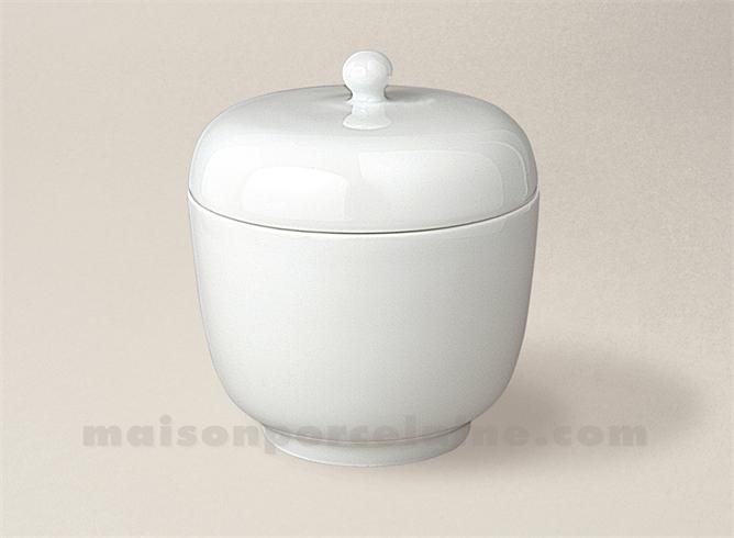 pot rond monteur chantilly mm prise boule 10x9 22cl maison de la porcelaine. Black Bedroom Furniture Sets. Home Design Ideas