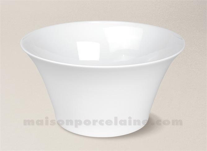 Saladier limoges porcelaine blanche haussmann d24 maison - Saladier porcelaine blanche ...